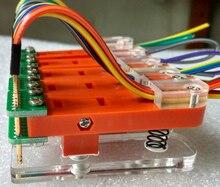 Pitch 2.00mm Test stand PCB clip Clamp Fixture fixture Probe pogo pin Download Program Burn 3P 4P 5P 6P 7P 8P 9P 10P