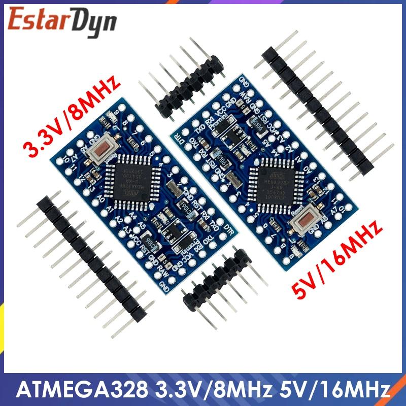 ATMEGA328P Pro Mini 328 Mini ATMEGA328 5 В/16 МГц ATMEGA328 3,3 В 8 МГц для платы разработки Arduino
