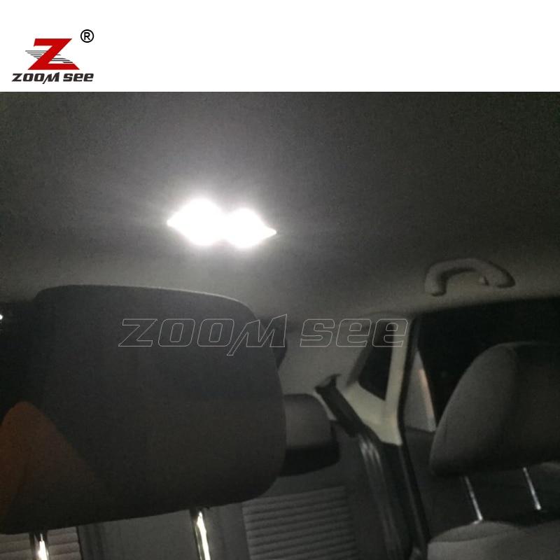 Идеальный Canbus белые светодиодные лампы внутреннего освещения купольная карта+ комплект номерного знака для VW для Polo 6R 6C 9N 9N3 6N 6N1 6N2(1994
