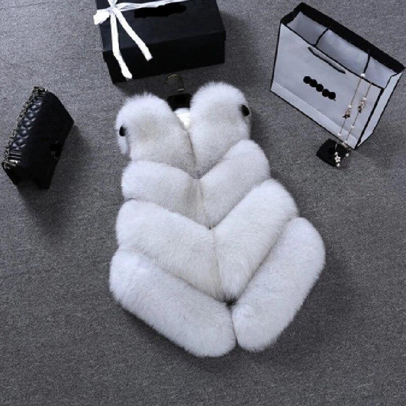 Brand women s high imitation fox fur jacket real fur coat real fur vest free delivery Brand women's high imitation fox fur jacket, real fur coat,real fur vest free delivery