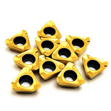 Carbide insert 3PKT100408R M TT9080 metal lathe tool carbide 3PKT 100408 CNC end face milling cutter turning inserts