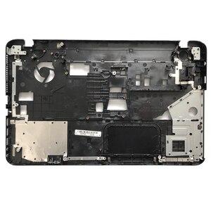 Image 4 - חדש מקרה כיסוי עבור Toshiba לווין L850 L855 C850 C855 C855D Palmrest כיסוי ללא touchpad/מחשב נייד תחתון בסיס מקרה כיסוי