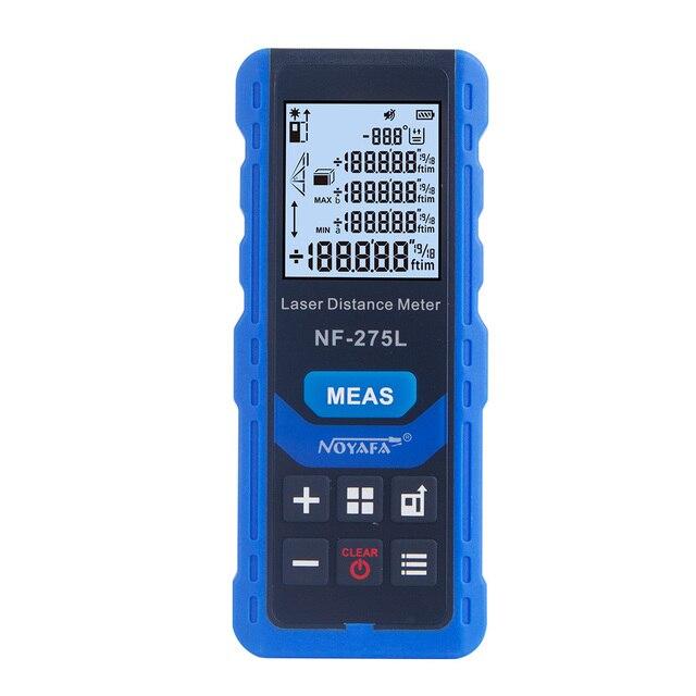 Noyafa NF-275L Green Laser Distance Meter 60M 100M Rangefinder Tape Range Finder Electronic Level Test Instrument 1