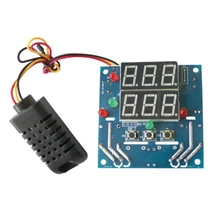 12V Intelligent Temperature Humidity Controller Relay AC/DC Adjustable Control Thermometer Hygrometer AM2301 Sensor