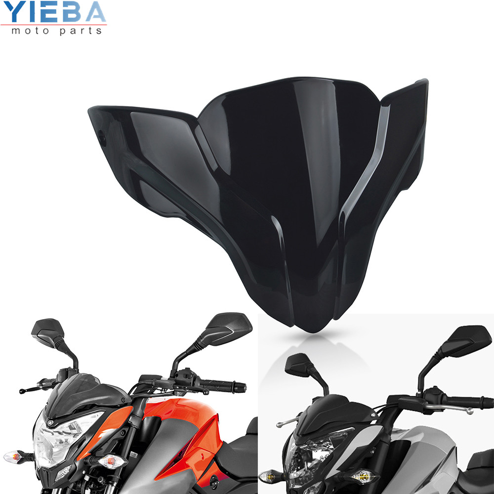 For <font><b>BAJAJ</b></font> <font><b>Pulsar</b></font> NS200 <font><b>NS</b></font> <font><b>200</b></font> 2020 Motorcycle Windscreen Cover Windshield Wind Screen Wind Protector Windscreens Deflector Parts image