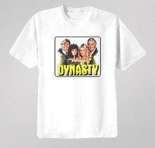Camiseta t da série da tevê da dinastia
