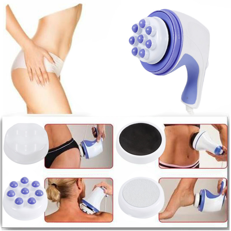 5 In 1 3D Electric Full Body Slimming Massager  Full Relax Tone Spin Body Massager Roller Cellulite Massage Smarter Device HWC