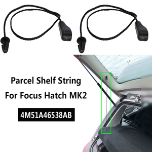 Pair For Ford Focus 2 Hatchback MK2 2004 - 2011 Rear PARCEL SHELF LOAD LUGGAGE Inner Tonneau Hatch Cover Lift String Strap Clips