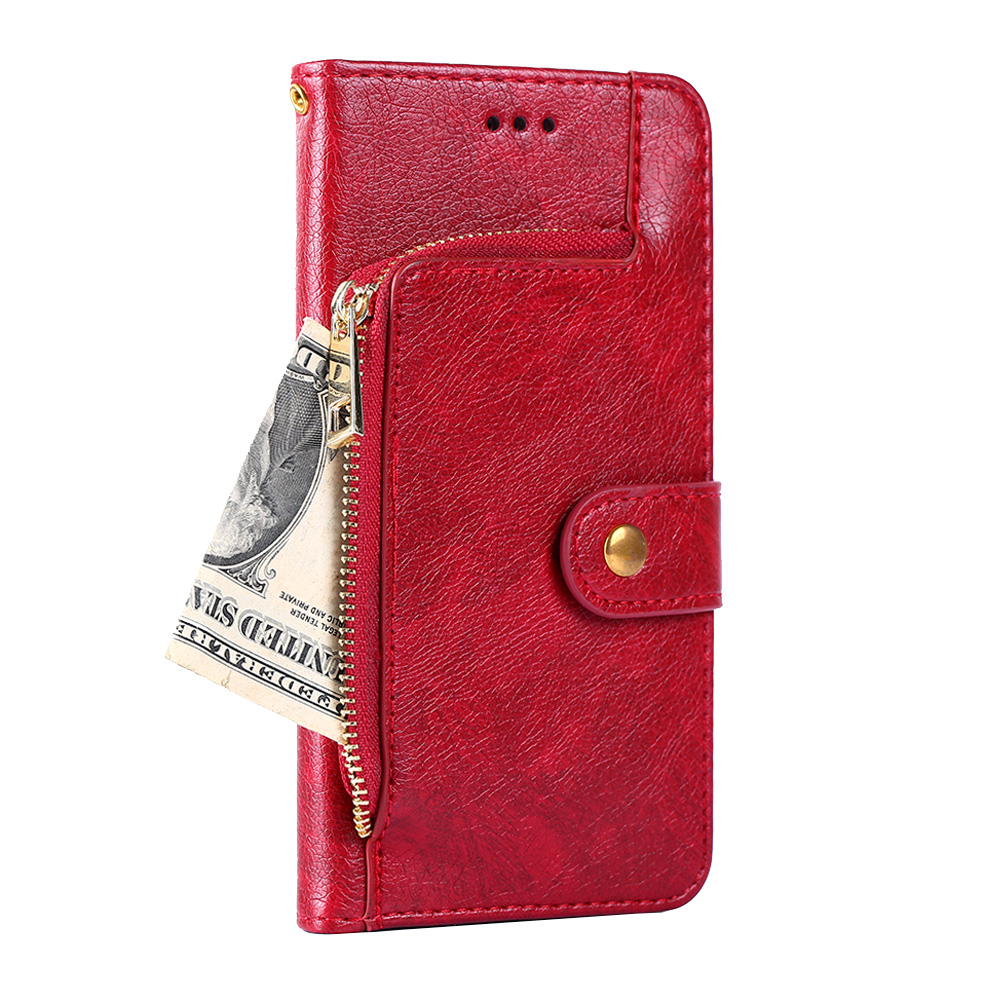 Luxury <font><b>Wallet</b></font> Phone <font><b>Case</b></font> For <font><b>SAMSUNG</b></font> Galaxy <font><b>S7</b></font> S6 S5 <font><b>S7</b></font> <font><b>edge</b></font> S6 <font><b>edge</b></font> S6 <font><b>edge</b></font> plus G9350 G9280 G9250 Flip cover Vintage Leather image