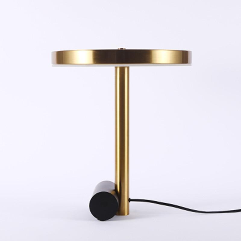 2019 Design moderne hôtel lampe, classique industriel fantaisie pas cher Antique chevet laiton or fer lampes de Table déco