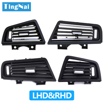 LHD RHD Dashboard Air Conditioning Side Chrome AC Vent Grille Cover For BMW 5 Series F10 F11 F18 520i 523i 525i 528i 535i image