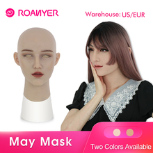 Roanyer Crossdresser mask Silicone Skin women Shemale masquerade Masken for men Transgender Male Drag Queen halloween Cosplay