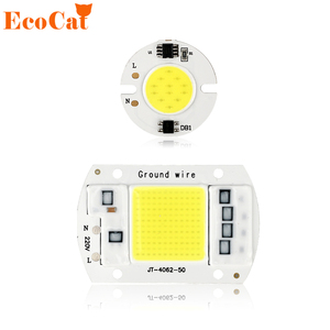 COB LED Chip 220V 50W 30W 20W 10W Smart IC No Need Driver LED Bulb Lamp For DIY Floodlight Spotlight(China)