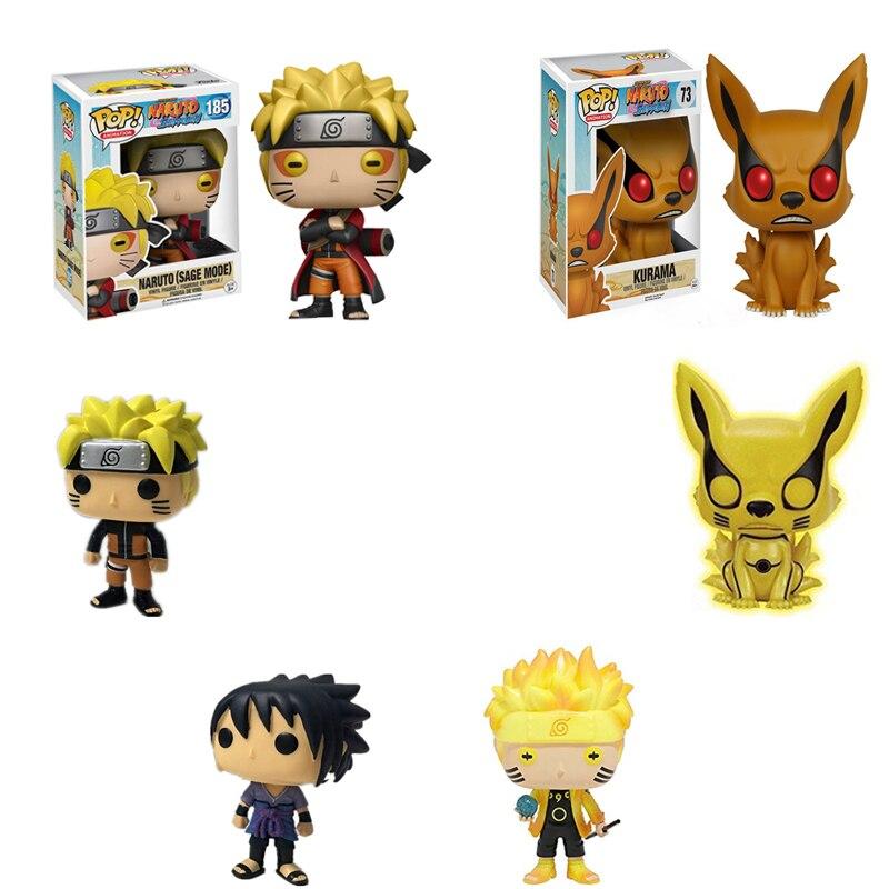 Funko POP Action Naruto (Sage Mode) Six Path Sasuke Movie Figure Anime Model Pvc Collection Toys For Children Christmas Gift