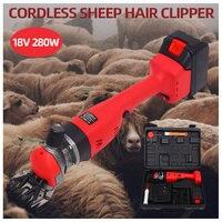Venta 280W 18V cortadora eléctrica de pelo de oveja para mascotas Kit de corte de lana para