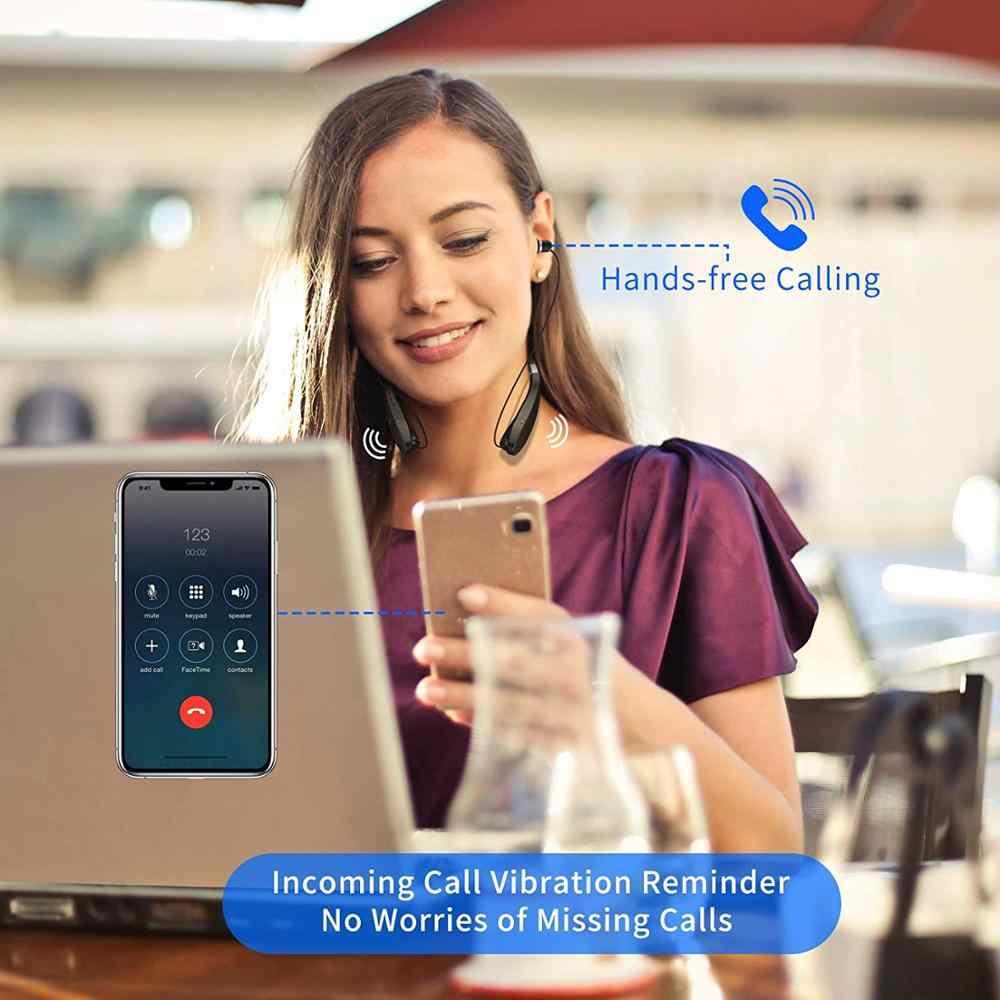 Amorno ネックバンドイヤホンワイヤレス Fone 社の Bluetooth ヘッドフォンとマイクハンズフリー TWS キャンセルヘッドフォンヘッドセット