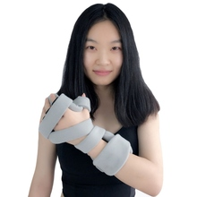 Adjustable Practical Finger Hand Splint Strap Breathable Fingers Palm Bone Fracture Fixed Orthosis Plate Rehabilitation Supplies anti spasticity ball fingers apart hand far infrared impairment finger orthosis vibration massage rehabilitation exercise