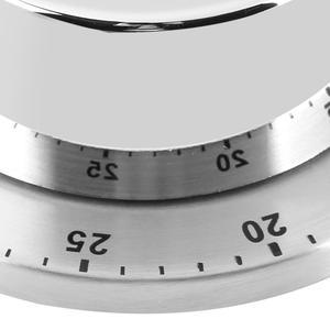 Image 5 - Roestvrijstalen Keuken Timer Met Magnetische Basis Handleiding Mechanische Koken Timer Countdown Koken Gereedschap Keuken Gadgets