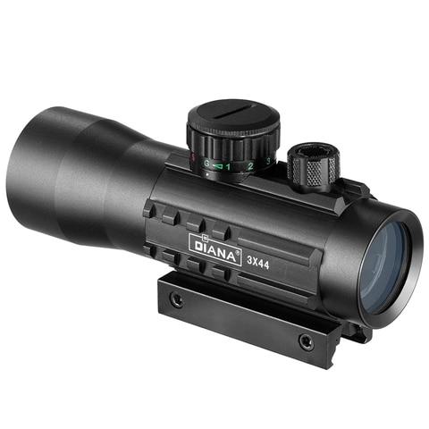optica riflescope caber 11 20mm ferroviario rifle escopos para caca