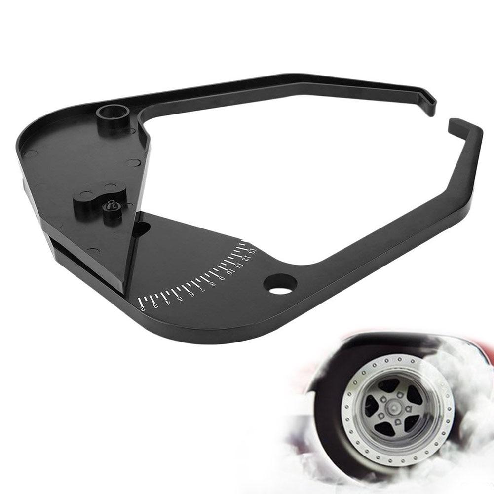 Wheel Easy Use Rim Tire Balancer Caliper Portable Gauge Part Accurate Black Tool Width Measurement Car Readable Universal