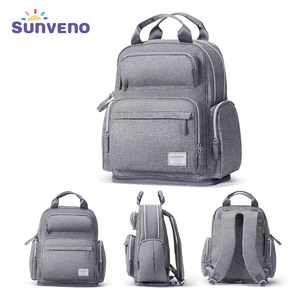 Image 1 - Sunveno Large Capacity Diaper Bag Fashion Maternity Baby Bag Backpack Stylish Stroller Baby Diaper Bag For Mom