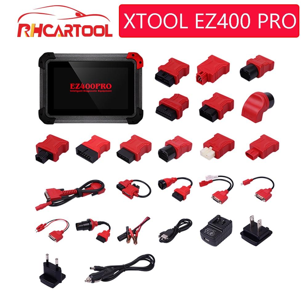 Original XTOOL EZ400 PRO Tablet Diagnostic Tool Support Key Program Odometer Adjustment and Airbag Reset Support