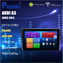 Android Car DVD Per AUDI A3 (2003-2011) auto Radio Multimedia Video Player di Navigazione GPS Android 9 Doppio DIn