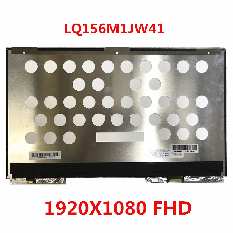 LQ156M1JW41 15.6 ″ FHD 1920 * 1080 Only Fit For DELL XPS 15 <font><b>9570</b></font> Precision 5530 Screen LCD Display image