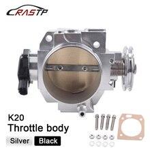 Corpo do acelerador + sensor de posição do corpo do acelerador tps para rsx dc5 civic si ep3 k20 k20a 70mm cnc corpo do acelerador entrada RS THB003 70mm