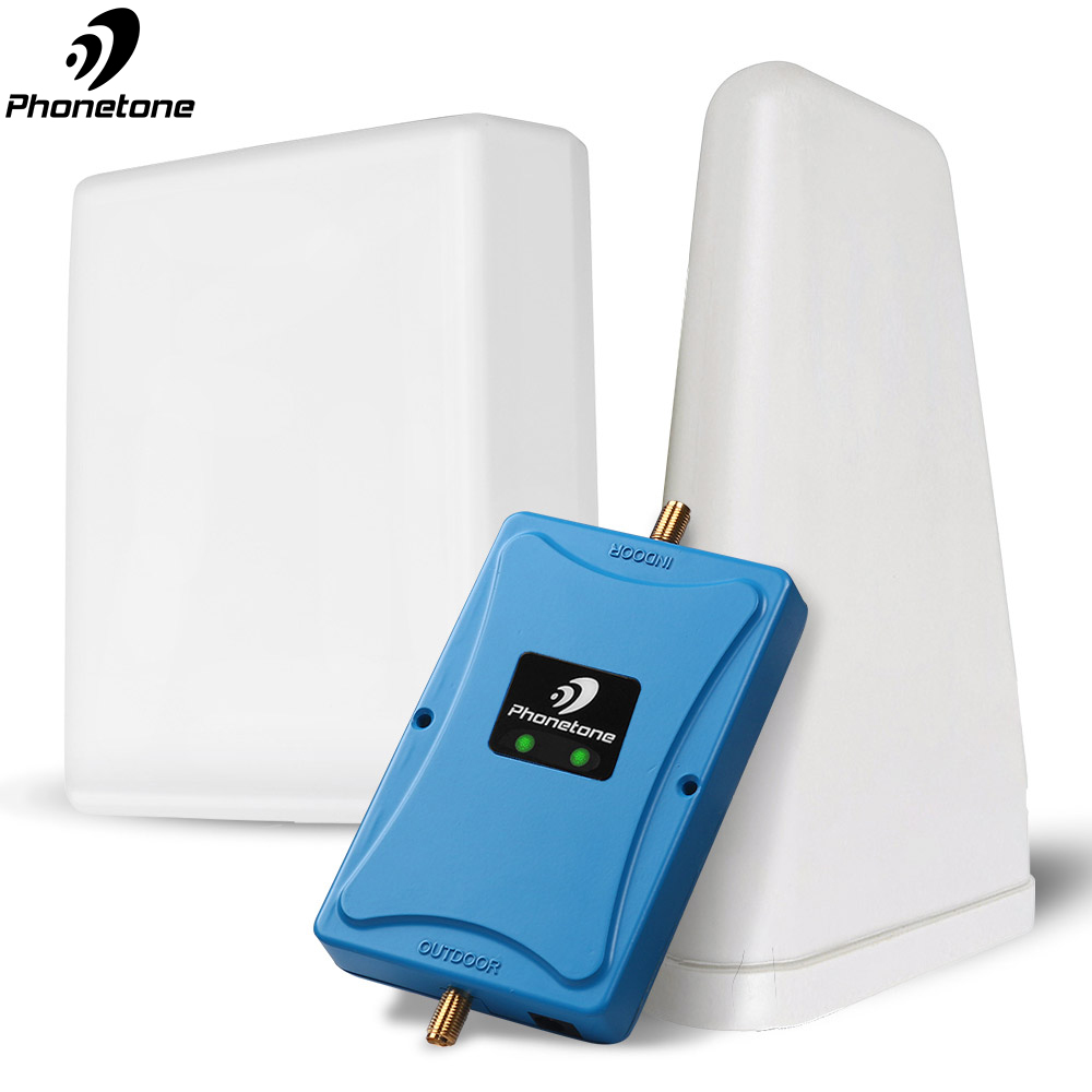 Repeater 2/3/4G Amplifier Cell Phone Signal Booster GD 900 4G Lte/dcs 1800 Mhz UMTS Dual Band LTE 70dB Cellular Signal Amplifier
