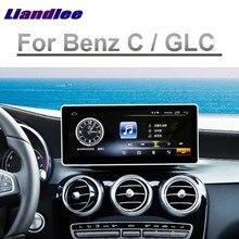 لمرسيدس بنز MB GLC الفئة 2015 2016 2017 2018 Liislee نافي سيارة مشغل وسائط متعددة 4G RAM CarPlay راديو لتحديد المواقع مابسنافيغاتيون