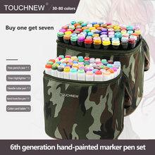 Маркеры touchnew 30/40/60/80 цветов маркеры для рисования манги