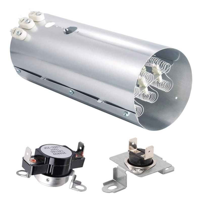 Dryer Replacement Parts 134792700 Dryer Heating Element  137032600 Heat Limiter and 3204267 Thermostat|Washing Machine Parts| |  - title=
