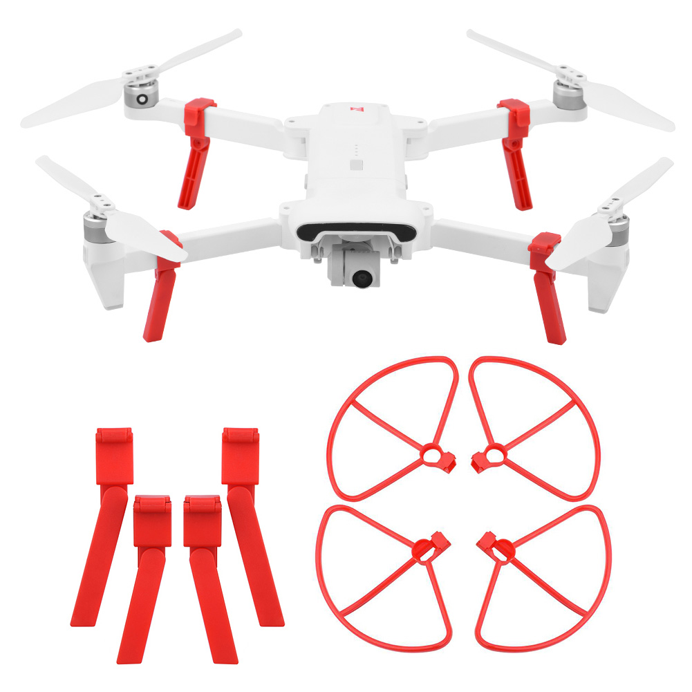 Protective Ring Propeller Heightening Stand Guard Landing Gear Set Drone Parts Accessories High Hardness For Xiaomi FIMI X8 S E