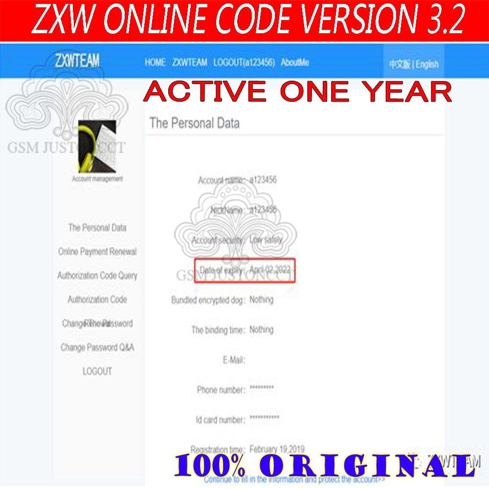 Online ZXW Team 3.2 Version Schematics Digital Authorization Code Zillion X Work Circuit Diagram Logic Board