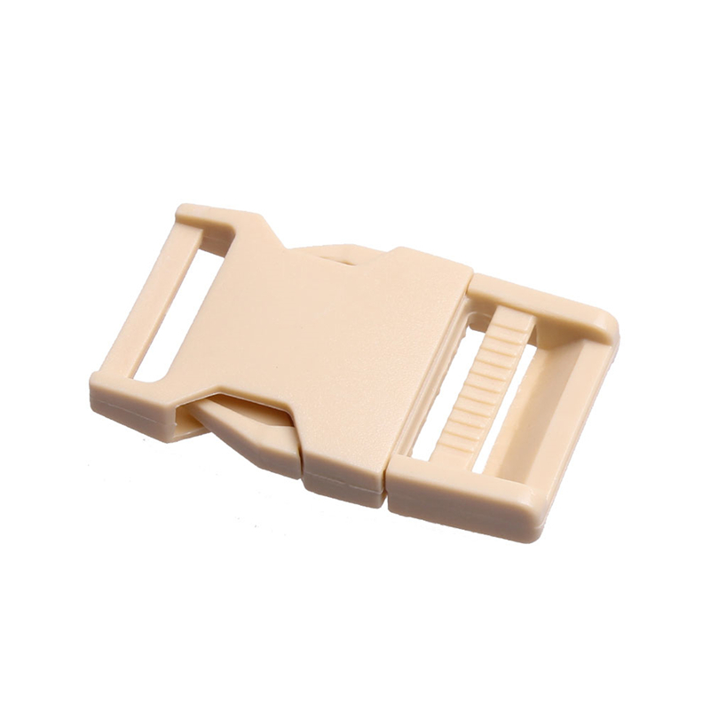 2 шт 25 мм Красочные пряжки ABS застежки для Паракорда браслет рюкзаки одежда сумки запчасти - Цвет: Khaki