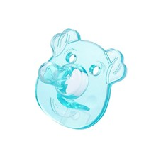 Unisex casual pacifier for newborns cute silicone baby mouth baby booster lips baby pacifier(China)