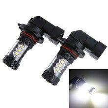 2 шт. 3030 80 Вт 9005 9006 Hb3 Hb4 высокомощный светодиодный автомобильный противотуманный фонарь, дневные ходовые лампы, наружный светодиодный противотуманный фонарь# YL1