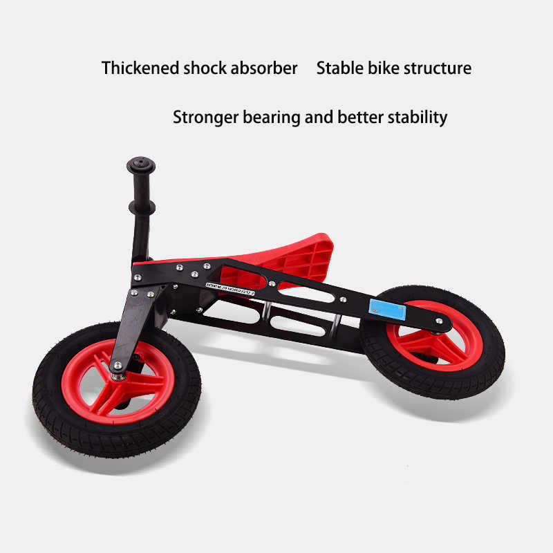 Bayi Bersinar Anak-anak Skuter Anak Keseimbangan Mobil Bayi Awal Berjalan Pelatihan Mobil 18-36 M Non Las Inflatable Roda untuk Bayi