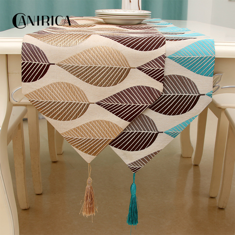 CANIRICA Table Runner Modern Table Runners With Tassel Table Runners For Wedding Dinning Table Decoration Runner