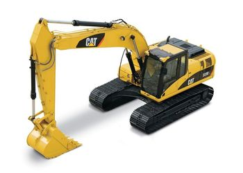 NEW  CAT 1:50 Cat 323D L Hydraulic Excavator 55215 Engineering Vehicles Model Toy wooden hydraulic excavator model handmade scientific experiments steam