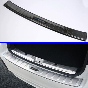 Accesorios de acero inoxidable para coche Subaru XV 2018 2019, placa de desgaste trasera para maletero, cubierta de alféizar de puerta, moldura de Adorno