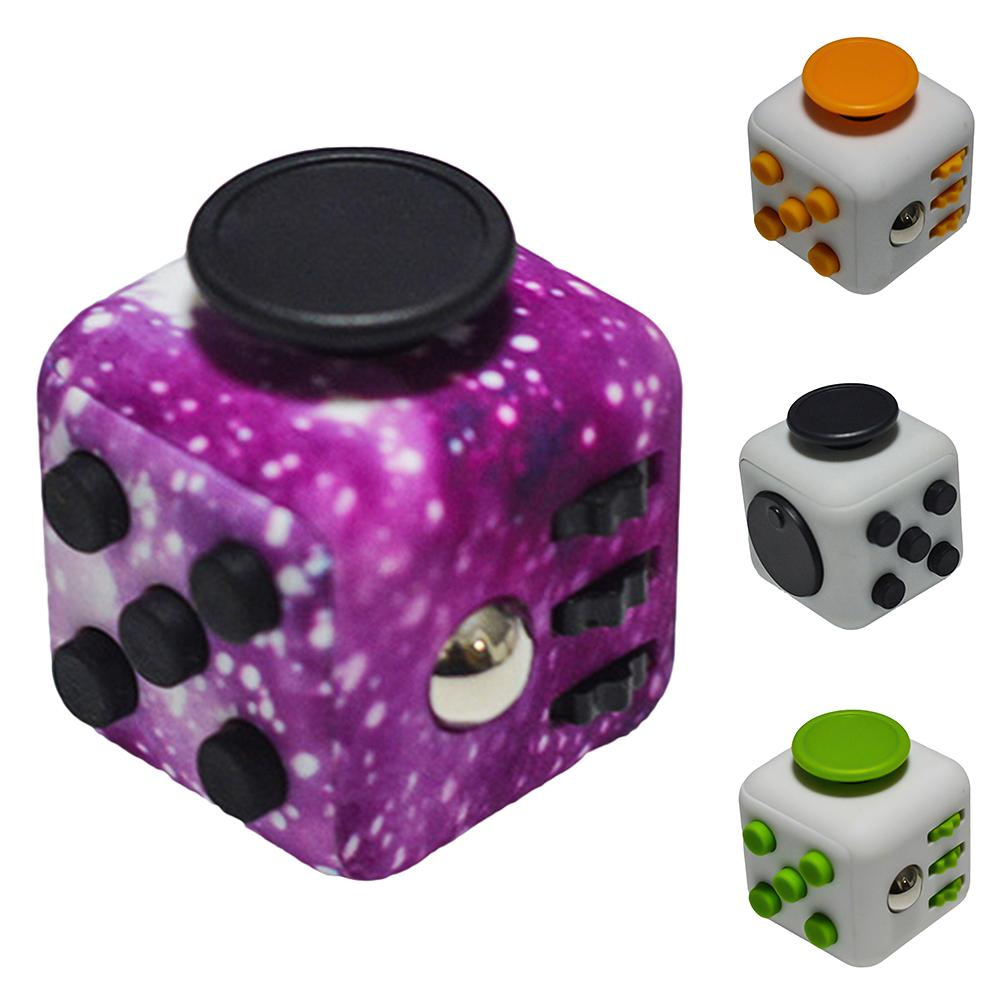 Creative Stress Relief Anti-Anxiety Puzzle Cubes Adult Kid Desk Game Toy Dice Gift  Desk Game Toy Gift For Children Model Toy