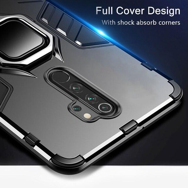 KEYSION odporny na wstrząsy futerał do Redmi Note 8 Pro 9s 8 8A 7 7A 8T K30 K20 tylna obudowa telefonu do Xiaomi Mi 9T A2 A3 mi10 9 SE Mi 9 lite