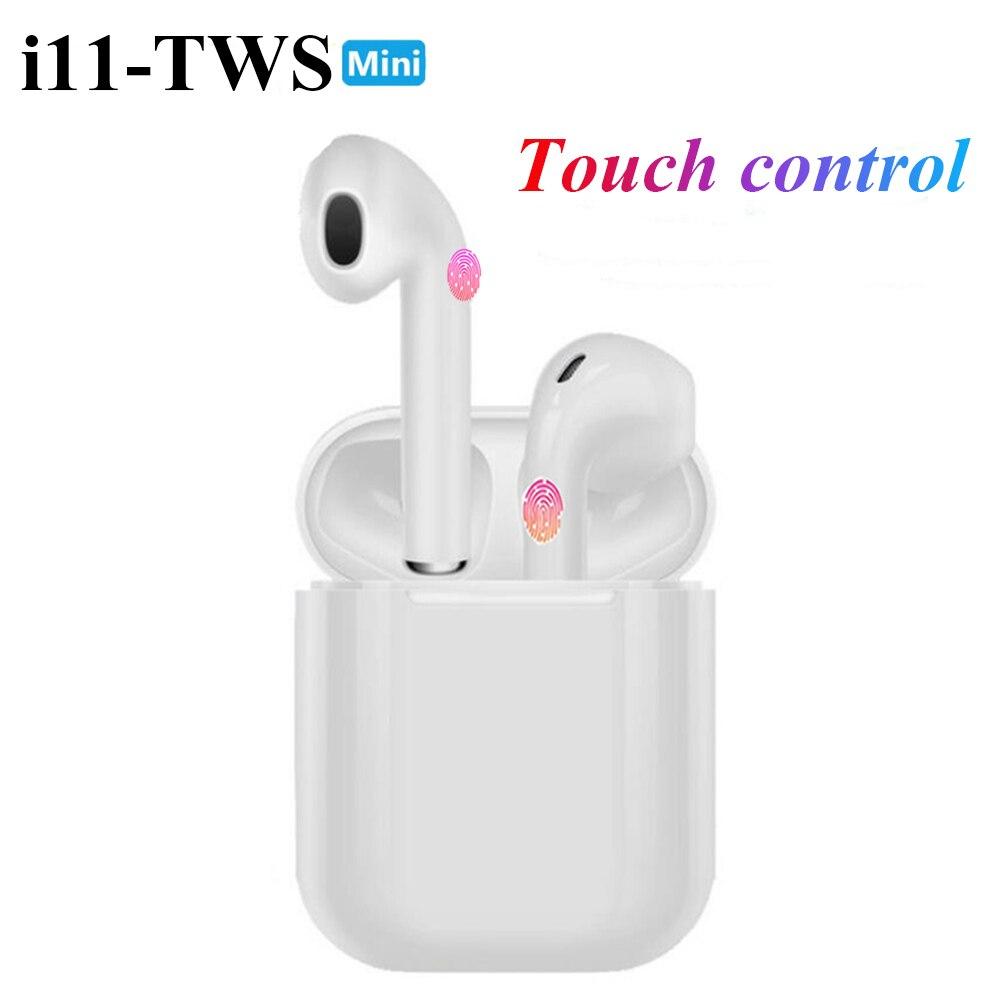 I11 Earphones Touch Bluetooth Earphones Stereo Wireless Headphones Sports Headphones Game Headset For Iphone Samsung Huawei
