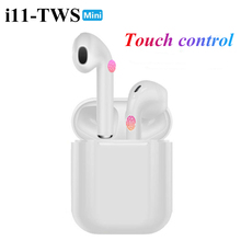 i11 earphones Touch Bluetooth earphones Stereo wireless head