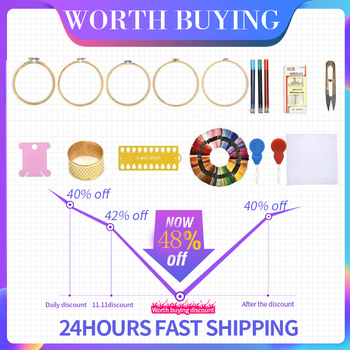 Multicolor Cross Stitch Threads Cotton Sewing Skeins Embroidery Thread Floss Skein Kit DIY Sewing Tool 24/36/50/100pcs jiwuo 100 color embroidery floss cross stitch cotton bamboo embroidery thread sewing skeins floss hoop kit sewing craft tool