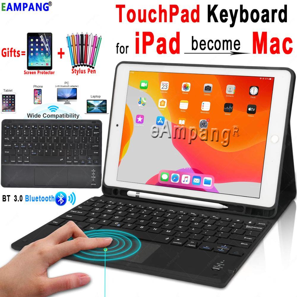 TouchPad Keyboard For IPad 10.2 2019 Keyboard Case For Apple IPad 9.7 2017 2018 Air 1 2 3 Pro 9.7 10.5 11 2018 2020 Keyboard