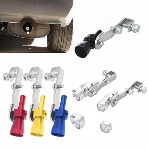 Universal Car Turbo Sound Muffler Exhaust Pipe Blow-off Vale Simulator Whistle image