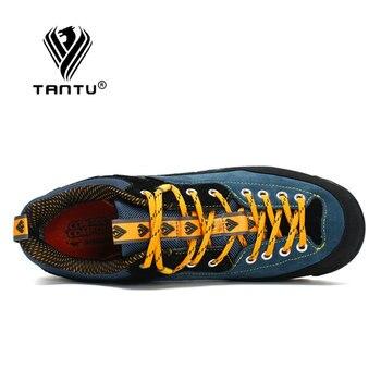 TANTU Waterproof Hiking Shoes Mountain Climbing Shoes Outdoor Hiking Boots Trekking Sport Sneakers Men Hunting Trekking 4